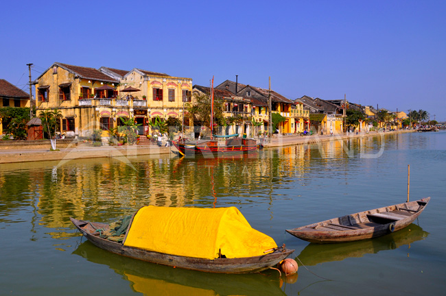 Thu Bon River, Hoian