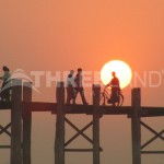 u-bein-bridge-sunset