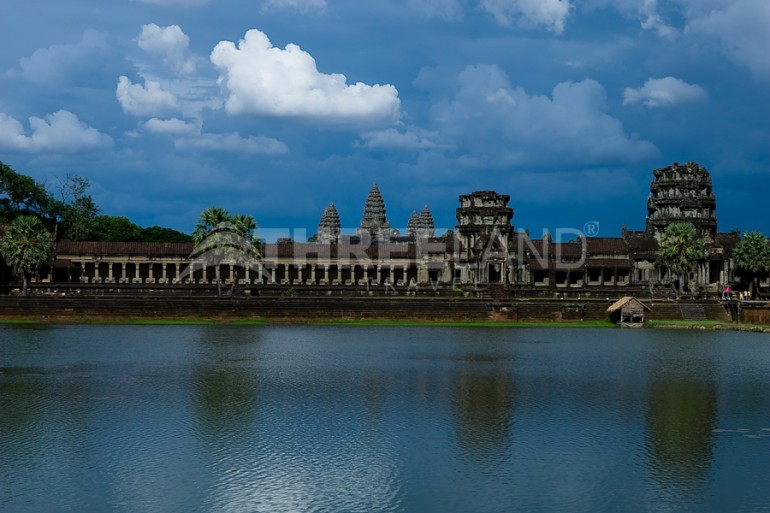 Front of Angkor Wat
