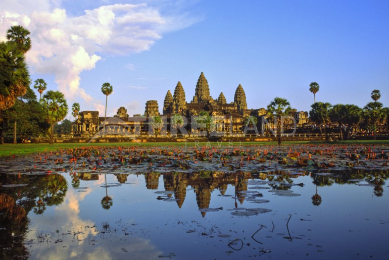 Dreamstime Angkor Wat at sunset