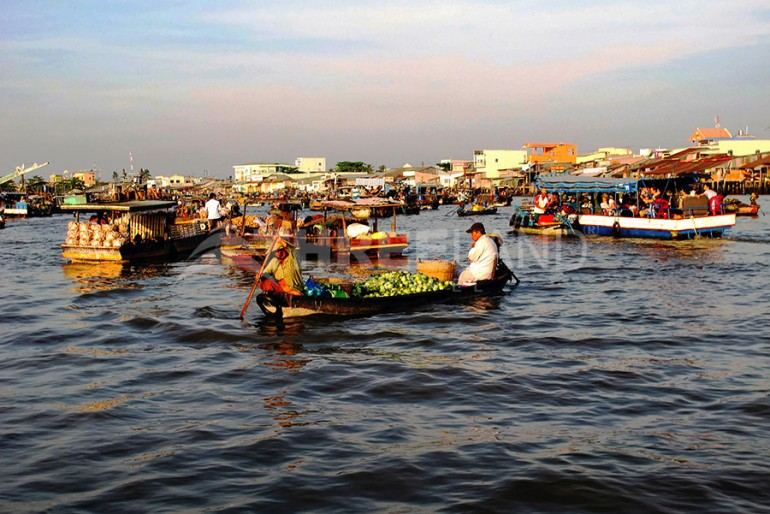 Cai Rang floating market – Can Tho