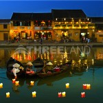 Flower larntern in Hoian