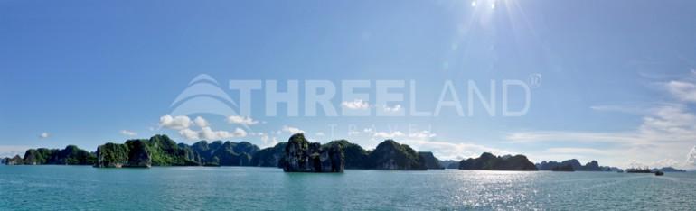 Halong bay panorama